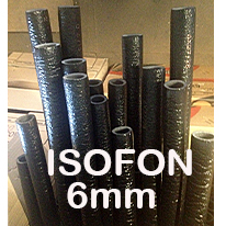 Isolamento 6mm ISOFON p/ Tubagens