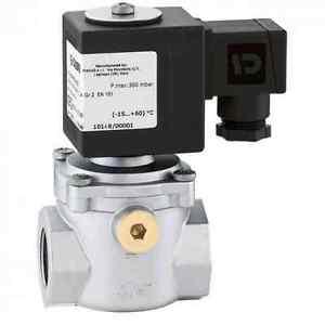 Eletrovávulas p/Detetores GN/GPL-Rearme Automático