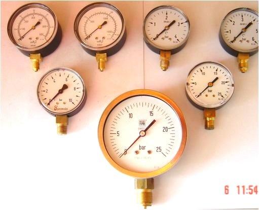 Manómetros de Gás